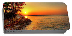 Sunrise Around The Bend Portable Battery Charger