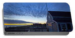 Sunrise At Barnstable Yacht Club Portable Battery Charger