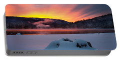 Sunrise At Bass Lake Portable Battery Charger