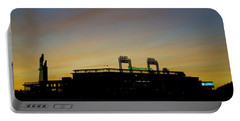 Sunrise At Citizens Bank Park Portable Battery Charger