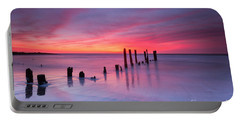 Sunrise At Deal Nj Portable Battery Charger by Michael Ver Sprill