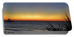 Sunrise At Folly Portable Battery Charger