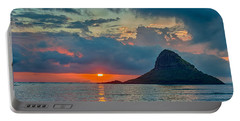 Sunrise At Kualoa Park Portable Battery Charger