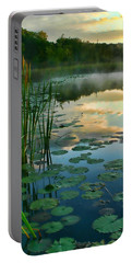 Sunrise At Pokagon State Park  Portable Battery Charger
