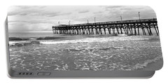Sunrise At Surfside Bw Portable Battery Charger