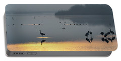 Sunrise Over The Hula Valley Israel 1 Portable Battery Charger