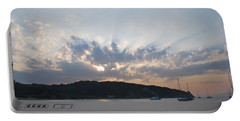 Portable Battery Charger featuring the photograph Sunrise by George Katechis