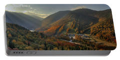 Sunrise In Franconia Notch Portable Battery Charger