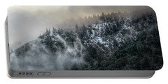 Portable Battery Charger featuring the photograph Sunrise In The Clouds by Melanie Lankford Photography