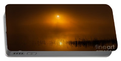 Sunrise In The Fog Portable Battery Charger