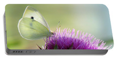 Sunrise In The Thistle Fields Portable Battery Charger