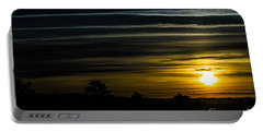 Portable Battery Charger featuring the photograph Sunrise In Virginia by Angela DeFrias