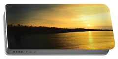 Portable Battery Charger featuring the photograph Sunrise On Ole Man River by Michael Hoard