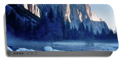 Sunrise On El Capitan Yosemite National Park Portable Battery Charger