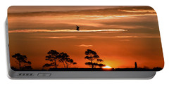 Sunrise Over Fenwick Island Portable Battery Charger