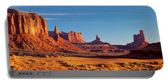 Sunrise Over Monument Valley Portable Battery Charger
