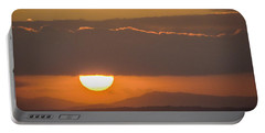 Sunrise Over River Shannon Portable Battery Charger