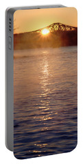 Sunrise Over Table Rock Portable Battery Charger