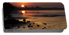 Portable Battery Charger featuring the photograph Sunrise Photograph by Meg Rousher