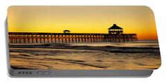 Sunrise Pier Folly Beach Sc Portable Battery Charger
