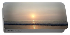 Sunrise Reflection Shines Upon The Atlantic Portable Battery Charger