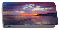 Portable Battery Charger featuring the photograph Sunrise Sizzle by Dianne Cowen