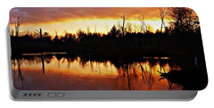 Sunrise Thanksgiving Morning Portable Battery Charger