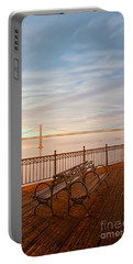 Portable Battery Charger featuring the photograph Sunrise To The Bay by Jonathan Nguyen