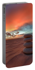 Portable Battery Charger featuring the photograph Sunrise Zen by Sebastian Musial