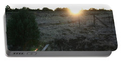 Portable Battery Charger featuring the photograph Sunrize by David S Reynolds