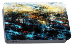 Portable Battery Charger featuring the digital art Sunset 083014 by David Lane
