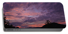 Sunset 2013 Portable Battery Charger by Tom Culver