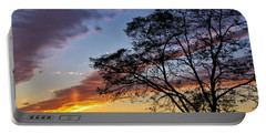 Sunset At Chesapeake Beach Portable Battery Charger