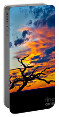 Sunset At Enchanted Rock Portable Battery Charger