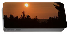 Sunset At Owl's Head Portable Battery Charger