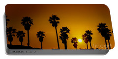 Sunset At The Beach Large Canvas Art, Canvas Print, Large Art, Large Wall Decor, Home Decor Portable Battery Charger
