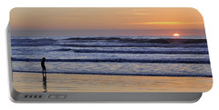 Sunset Beach Stroll  Portable Battery Charger