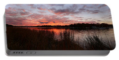 Sunset Bliss Portable Battery Charger by Lourry Legarde