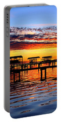 Sunset Breeze Portable Battery Charger