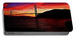 Portable Battery Charger featuring the photograph Sunset By The Bay by Dave Files