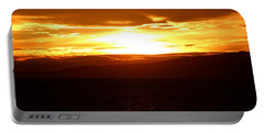 Sunset By The Fjord Portable Battery Charger