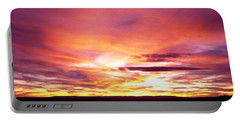 Sunset, Canyon De Chelly, Arizona, Usa Portable Battery Charger