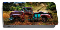 Sunset Chevy Pickup Portable Battery Charger