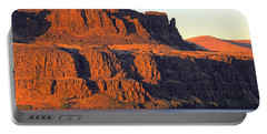 Sunset Cliffs At Horsethief  Portable Battery Charger