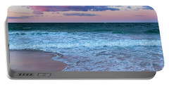 Sunset East Square Portable Battery Charger