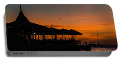 Sunset From Pelican Pier Portable Battery Charger