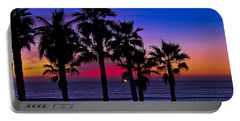 Sunset From The Ocean Park Inn Portable Battery Charger