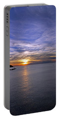 Sunset In Adriatic Portable Battery Charger