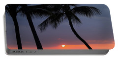 Sunset In Hawaii Portable Battery Charger