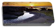 Portable Battery Charger featuring the photograph Sunset In Iceland by Gunnar Orn Arnason